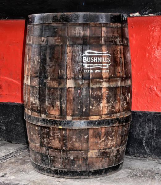 Irish Whiskey Photograph - Bushmills Irish Whiskey Barrel by Bill Cannon