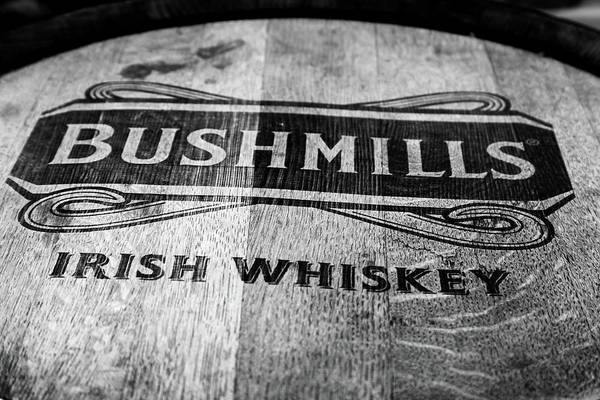 Irish Whiskey Photograph - Bushmills Whiskey Barrel by Georgia Fowler