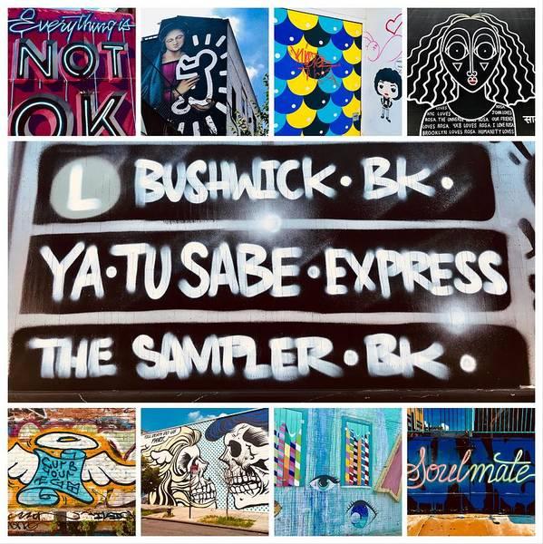 Wall Art - Photograph - Bushwick Urban Art Collection by Funkpix Photo Hunter