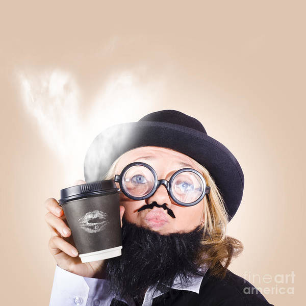Wall Art - Photograph - Businessperson Holding Disposable Coffee Cup by Jorgo Photography - Wall Art Gallery