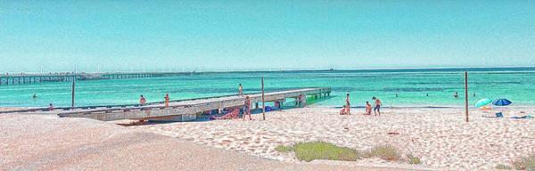 Photograph - Busselton Jetty Beach, Western Australia by Elaine Teague