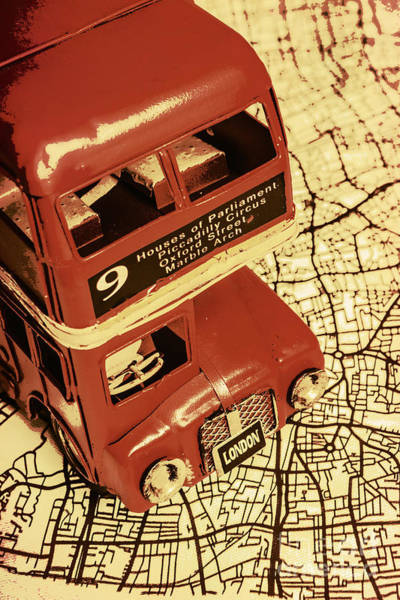 City Scape Photograph - Bussing Britain by Jorgo Photography - Wall Art Gallery