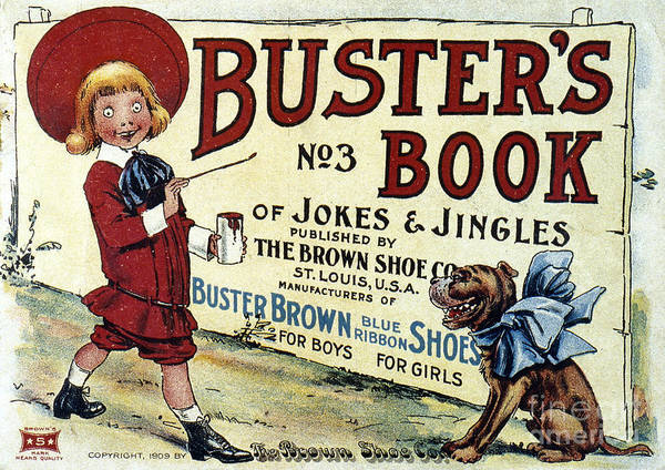 Photograph - Buster Brown Book, 1905 by Granger