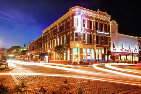 Arkansas Wall Art - Photograph - Busy Around Bentonville - Northwest Arkansas by Gregory Ballos
