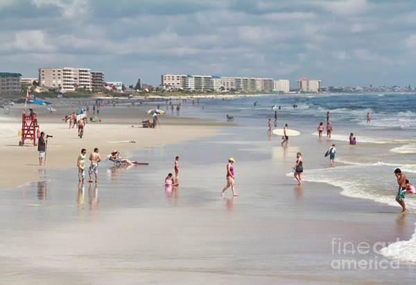 Photograph - Busy Beach Day by Deborah Benoit