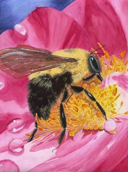 Painting - Busy Bee by Deborah Brown Maher