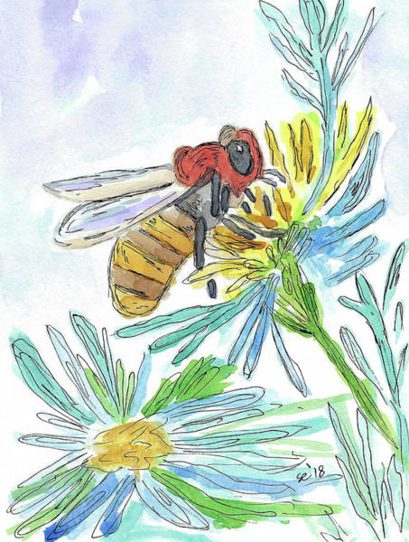 Painting - Busy Bee by Susan Campbell