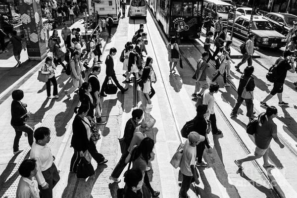 Photograph - Busy Hong Kong by Didier Marti