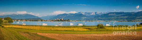 Zuerich Wall Art - Photograph - Busy Times At Zurichsee by JR Photography