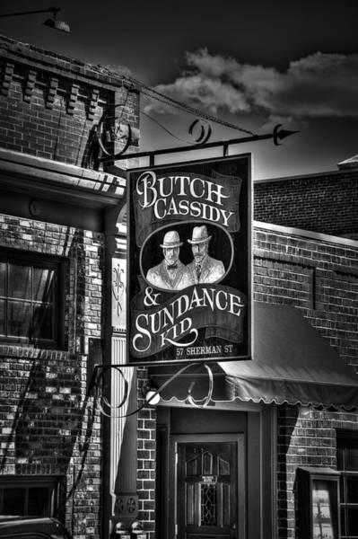 Wild Bill Hickock Photograph - Butch Cassidy And The Sundance Kid by Deborah Klubertanz