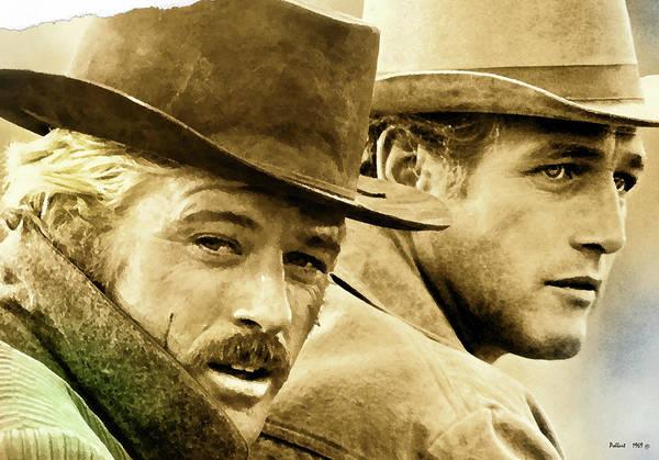 Bolivia Mixed Media - Butch Cassidy And The Sundance Kid     by Thomas Pollart