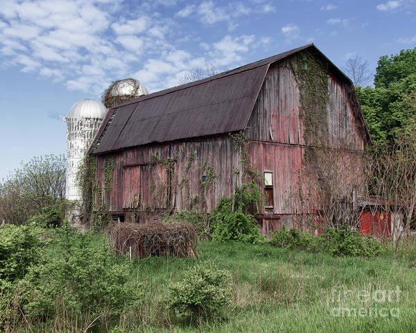 Photograph - Butler Barn by Rod Best