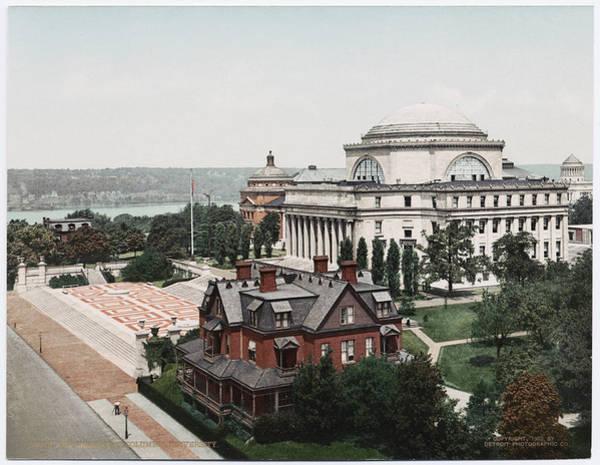 Butler Library At Columbia University Art Print