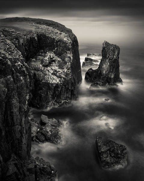 Wall Art - Photograph - Butt Of Lewis Cliffs by Dave Bowman