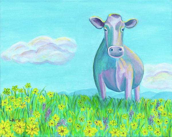 Wall Art - Painting - Buttercup by Laura Zoellner