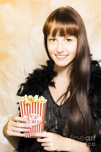 Showgirl Photograph - Buttered Popcorn At Showtime by Jorgo Photography - Wall Art Gallery