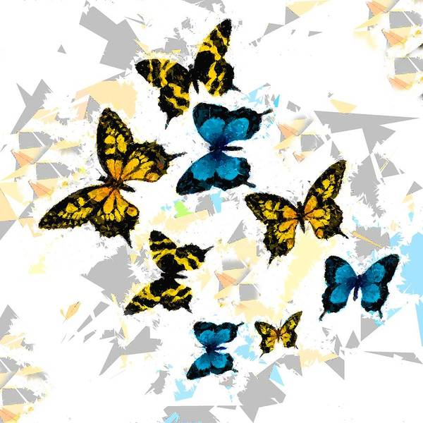Painting - Butterflies 318 by Movie Poster Prints