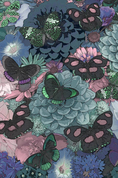 Wall Art - Painting - Butterflies by JQ Licensing