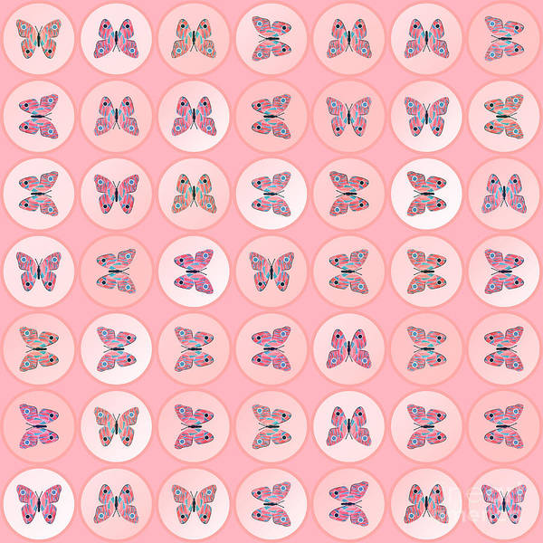 Wall Art - Digital Art - Butterflies by Gaspar Avila