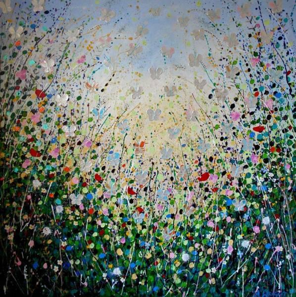 Butterflies- Large Work Art Print