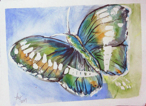Painting - Butterfly 2 by Loretta Nash