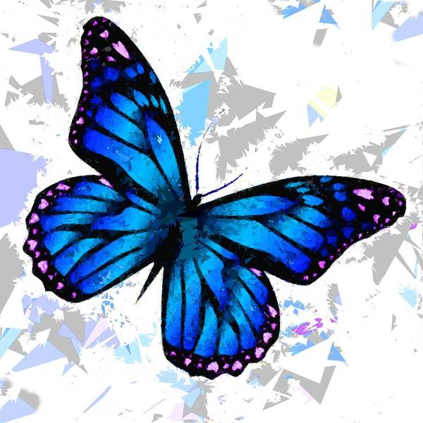 Painting - Butterfly 312 by Movie Poster Prints