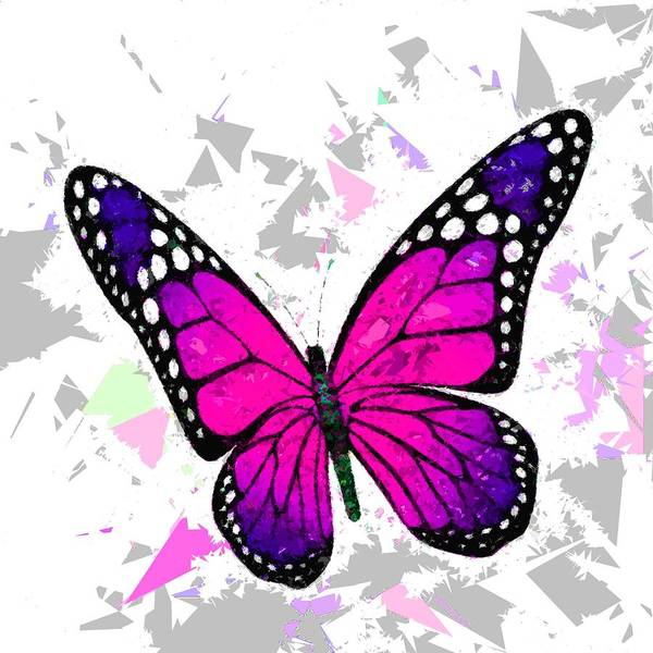 Painting - Butterfly 323 by Movie Poster Prints