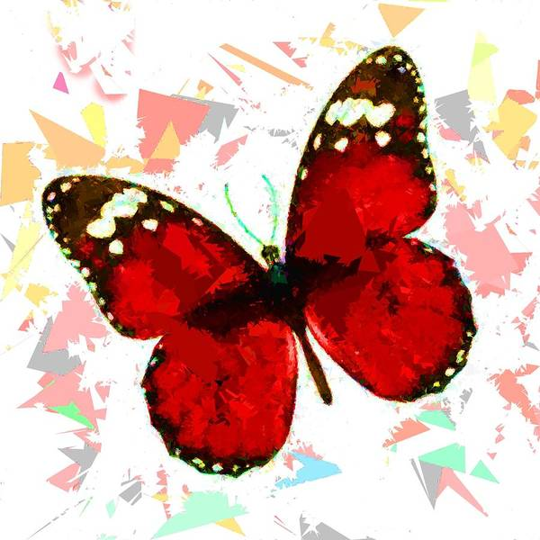 Painting - Butterfly 325 by Movie Poster Prints