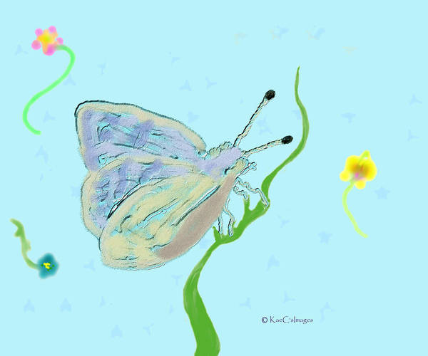 Digital Art - Butterfly Allusion by Kae Cheatham