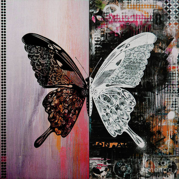 Antenna Painting - Butterfly Art 45h by Gull G