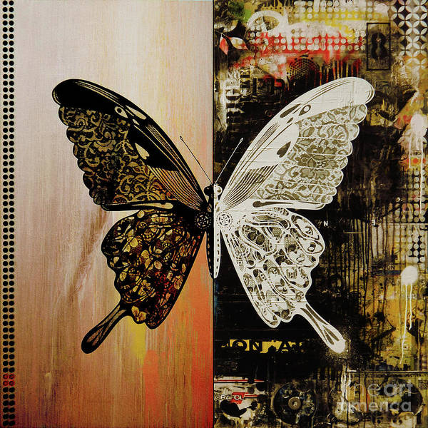 Antenna Painting - Butterfly Art 78y by Gull G