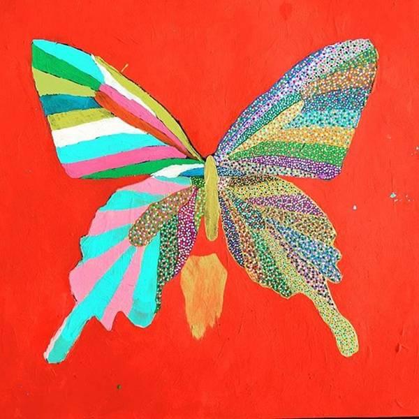Photograph - #butterfly #art  #acrilyc by Minami Fukasaka