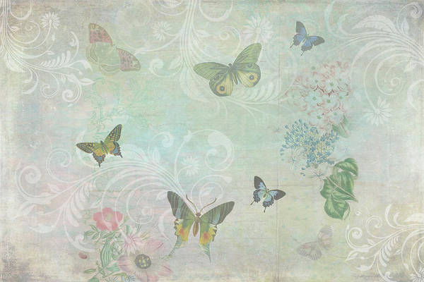 Mixed Media - Butterfly Dreams by Peggy Collins