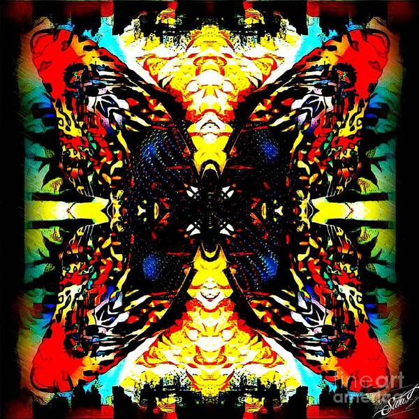 Digital Art - Butterfly Effect by Swedish Attitude Design