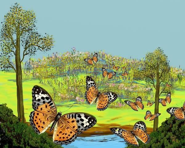 Digital Art - Butterfly Effect by Tony Rodriguez