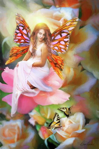 Photograph - Butterfly Fairy by Diana Haronis