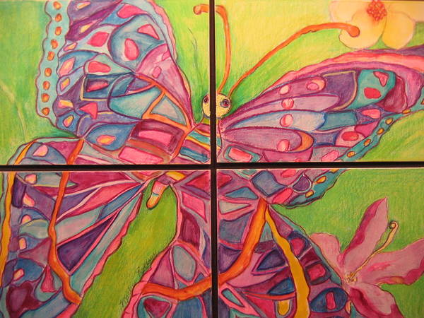 Painting - Butterfly Joy by Marlene Robbins