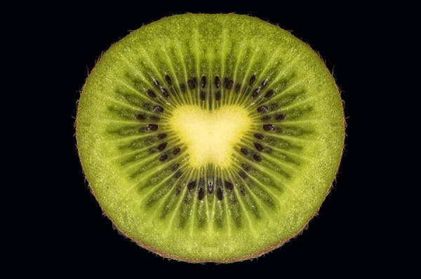 Kiwifruit Photograph - Butterfly Kiwi by Larry Helms