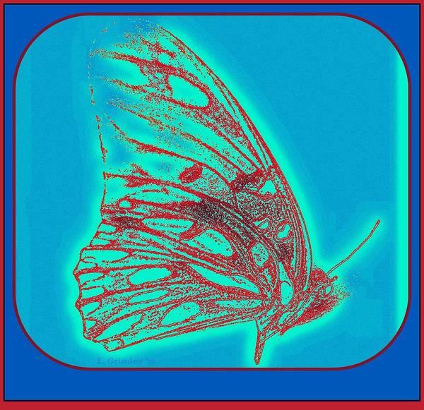 Wall Art - Digital Art - Butterfly by Lessandra Grimley