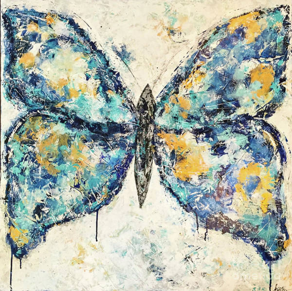 Wall Art - Painting - Butterfly Love by Kirsten Reed