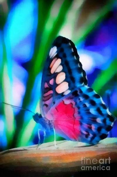 Butterfly Realistic Painting Art Print