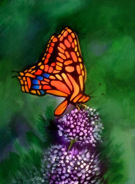 Wall Art - Painting - Butterfly by Robert Korhonen