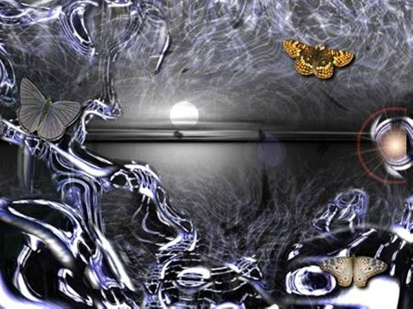 Digital Art - Butterfly Threads by Darren Cannell