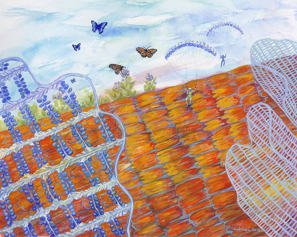 Painting - Butterfly's Wings by Shoshanah Dubiner