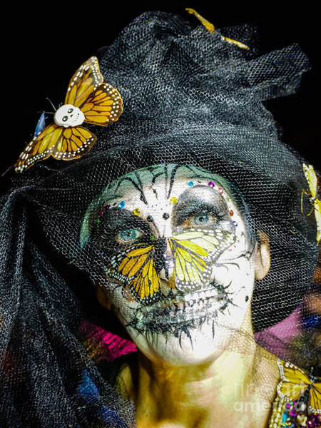 Photograph - Butterfly Woman by Robin Zygelman