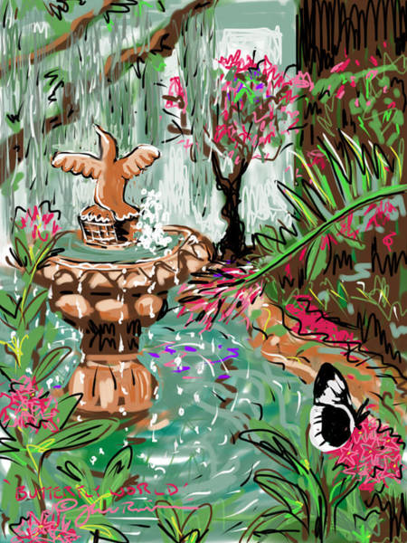 Digital Art - Butterfly World by Jean Pacheco Ravinski