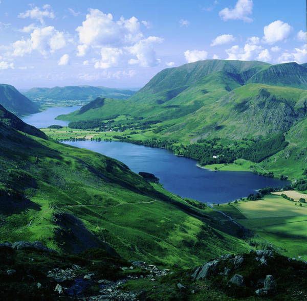 Photograph - Buttermere And Crummock Water From Haystacks, Cumbria. Uk by Maggie McCall