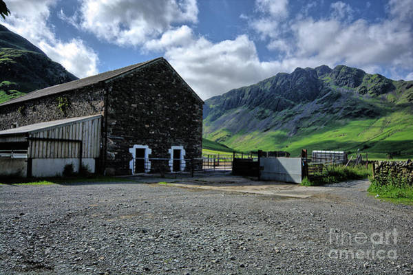 English Photograph - Buttermere Farm by Smart Aviation
