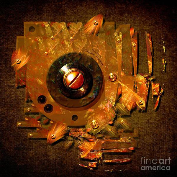 Digital Art - Button by Alexa Szlavics
