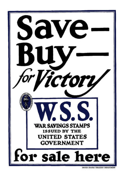 Saving Wall Art - Painting - Buy For Victory by War Is Hell Store